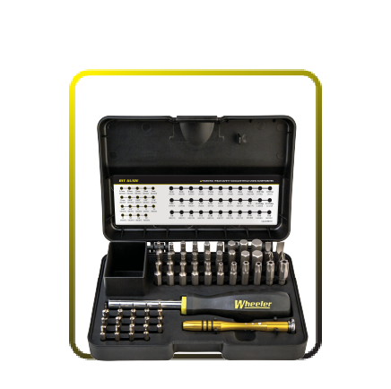 Wheeler 55 Piece  SAE/Metric Hex & Torx Screwdriver Set