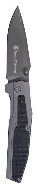 Smith & Wesson® Clip Point Black Inlay Handle