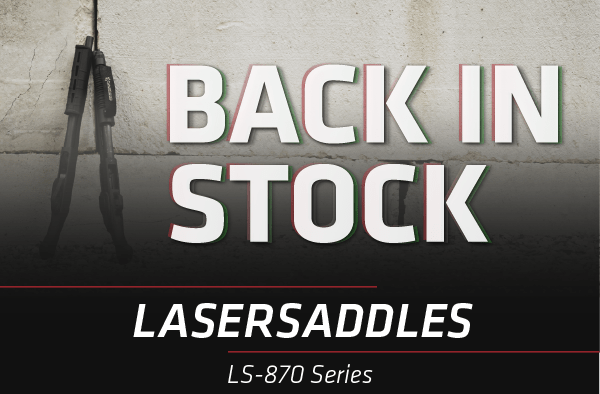 Guess Who's Back? LS-870 Lasersaddle series