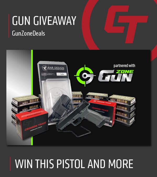 Partner Giveaway with Gun Zone Deals