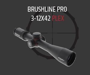 Brushline Pro: 3-12x42 PLEX
