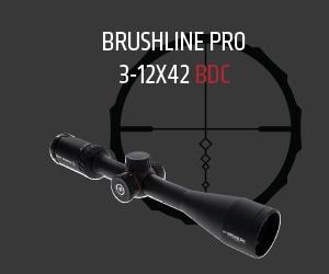 Brushline Pro: 3-12x42 BDC