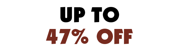 Up To 47% Off