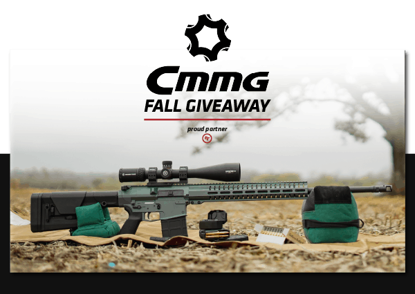 CMMG Fall Giveaway Is Live